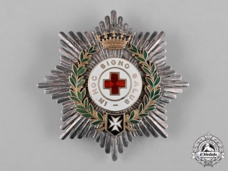 Spain, Franco Period. An Order of the Spanish Red Cross, II Class Star, c.1950