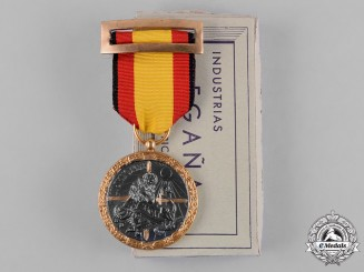 Spain, Franco Period. A Medal for the Campaign of 1936-1939, Front Service, by Egaña, c.1960