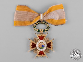 Spain, Kingdom. An Order of Isabella the Catholic in Gold, Commander, c.1880