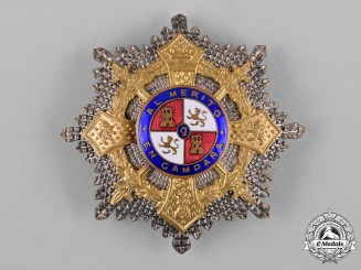Spain, Franco Period. A War Cross Star, c.1940
