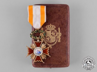 Spain, Kingdom. An Order of Isabella the Catholic in Gold, Knight, by M. Cejalvo, c.1890