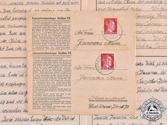 Germany, Third Reich. A Collection of Camp Correspondence to Maria Jaworski, c.1943