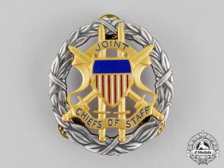 United States. An Office of the Joint Chiefs of Staff Identification Badge