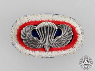 United States. An 11th Airborne Division Parachutist Badge