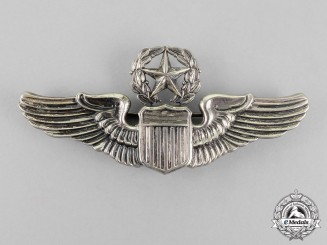 United States. An Army Air Force Command Pilot Badge, by  N.S.Meyer, c.1940
