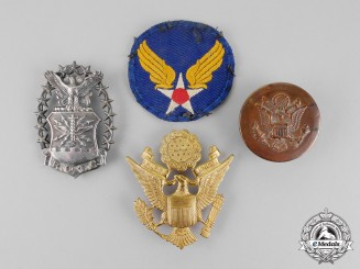 United States. Four United States Armed Forces Items