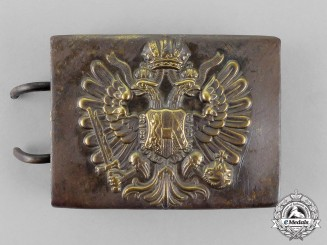 Russia, Imperial. An Infantry Regiment Belt Buckle, c.1915