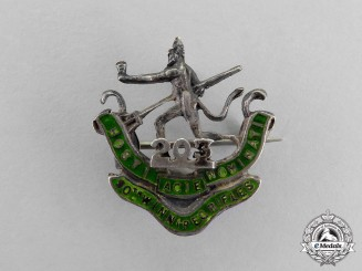 "Canada. A 203rd Infantry Battalion ""Winnipeg Rifles"" Sweetheart Badge"