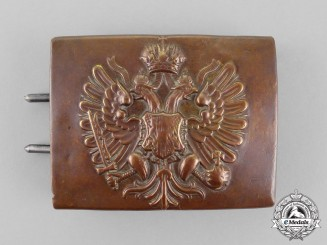 Russia, Imperial. An Infantry Regiment Belt Buckle, c.1916