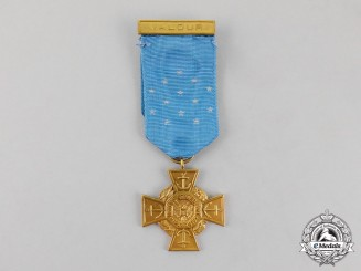 United States. A Navy Medal of Honor, Tiffany Cross, c.1935