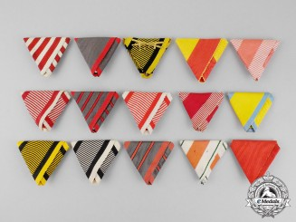 Austria. Selection of 15 First War Period Ribbons