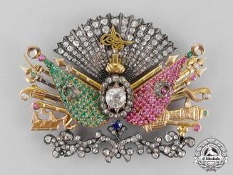 Turkey, Ottoman Empire. A Superb Sultan's Personal Award in Gold & Diamonds