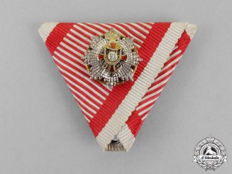Austria, Empire. Order of Franz Joseph, Miniature Grand Cross with KD