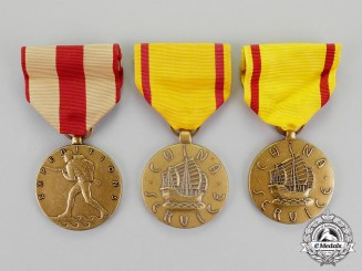 United States. A Lot of Three Service Medals