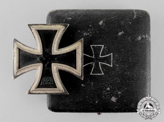 Germany. An Iron Cross 1939 First Class by Steinhauer & Lück; Double - Marked Version