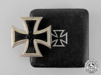 Germany. A Cased Iron Cross 1939 First Class by Friedrich Orth of Wien