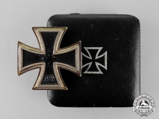 Germany. An Iron Cross 1939 First Class by Fritz Zimmermann of Stuttgart