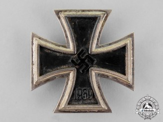 Germany. An Iron Cross 1939 First Class by B.H. Mayer