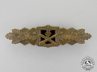 Germany. A Bronze Grade Close Combat Clasp by A.G.M.u.K