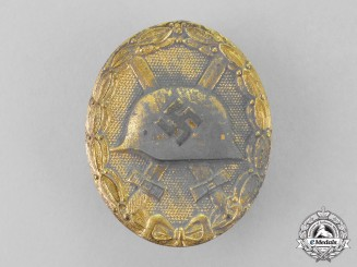 Germany. A Gold Grade Wound Badge
