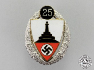 Germany. A 25-Year Kyffhäuser Veteran's Organization Badge by Deschler