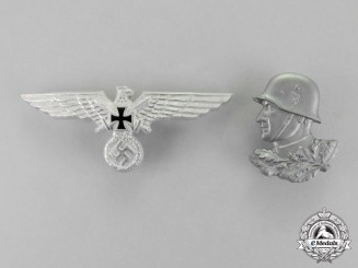 Germany. Two Third Reich Period Insignia