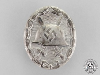 Germany. A Silver Grade Wound Badge by Förster & Barth
