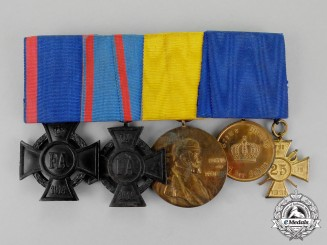 Oldenburg. A First War Period Friedrich August Medal Bar Grouping