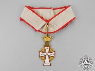 Denmark, Kingdom. An Order of Dannebrog, Commander, c,1882