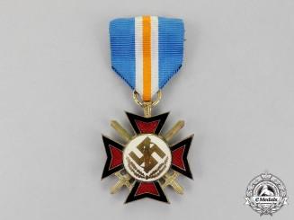 Netherlands. A NSB Mussert Bravery Cross