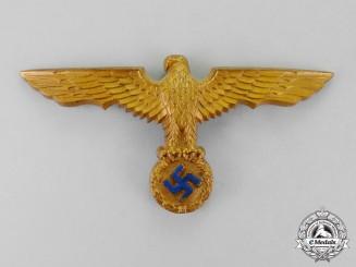 Germany. A Kriegsmarine Pith Helmet Eagle