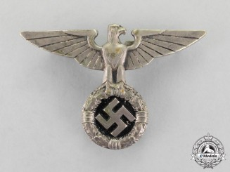 Germany. A NSDAP Early Political Cap Eagle