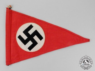 Germany. A NSDAP Garland Wimpel (Girlandenfahne)