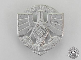 Germany. A 1937 German HJ Festival of Youths Badge