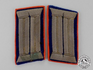 Germany, Imperial. A Set of First War Period General-Doctor (Generazt) Collar Tabs