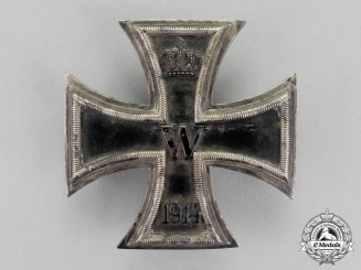 Prussia. An Iron Cross 1914 First Class