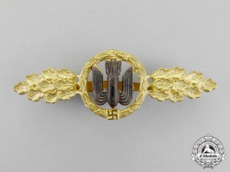 Germany. A Gold Grade Luftwaffe Squadron Clasp for Bomber Pilots