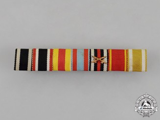 Prussia. A First and Second War Ribbon Bar