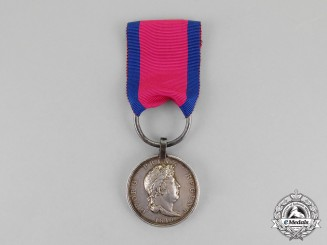 Hannover. An 1815 Issue Waterloo Medal, Feldbataillon Lauenburg
