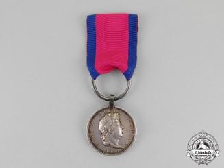 Hannover. An 1815 Issue Waterloo Medal, Feldbataillon Lauenburg