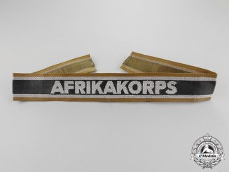 Germany, Third Reich. A Mint and Unissued DAK (German Africa Corps) Campaign Cuff Title