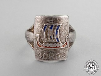Norway, Third Reich. A c. 1941 Norwegian Patriotic Ring