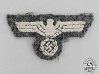 Germany. A Wehrmacht Heer (Army) Overseas Cap Eagle
