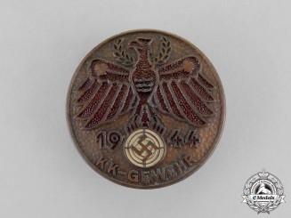 Austria. A 1944 Tiroler Small Caliber Rifle Marksmanship Competition Badge