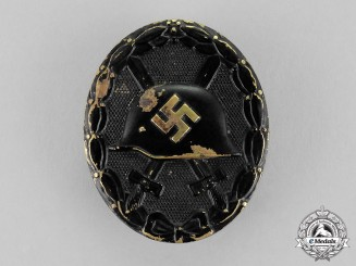 Germany. A Second War Period Black Grade Wound Badge
