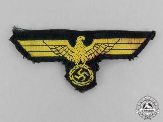 Germany. A Kriegsmarine Artillery EM/NCO's Overseas Cap Eagle