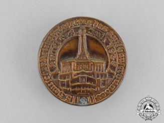 Germany. A 1935 115th Kyffhäuser National Day of Veteran's Celebration Badge