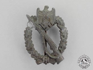 Germany. A Bronze Grade Infantry Assault Badge by E. Ferdinand Wiedmann