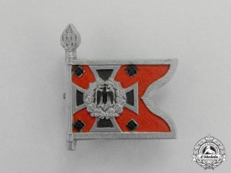 Germany. An Celebratory SA Artillery Banner Badge