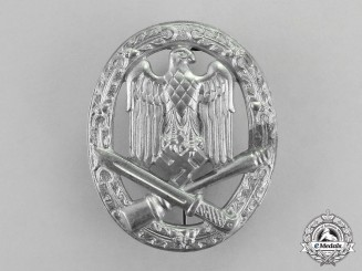 "Germany. A Mint and Unissued General Assault Badge by ""Unknown Maker 11"""